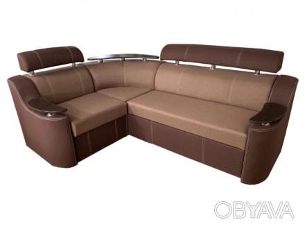 Угловой диван Невада - это диван изысканного дизайна, который способный предложи. Киев, Киевская область. фото 1