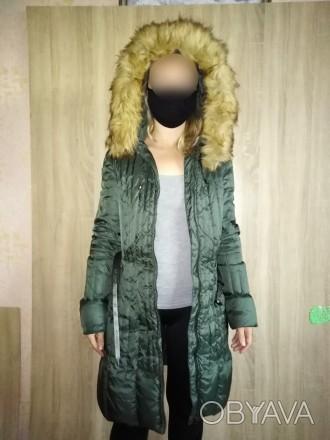 Женская пуховая куртка на теплую зиму (Размер S 34-36)