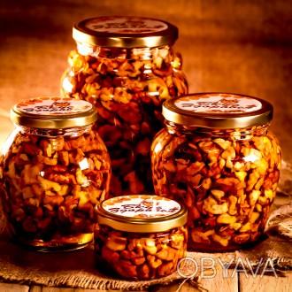 Грецкий орех в мёде / Грецкий орех в меду / Грецкие орехи в мёде / Орешки в меду