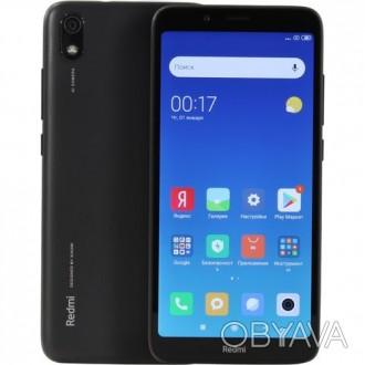 Xiaomi Redmi 7A 2Gb/32Gb Matte Black Global Edition Оригинальная коробка с доку. Лохвица, Полтавская область. фото 1