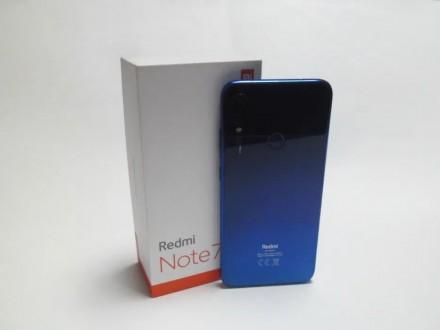Продам смартфон Xiaomi Redmi Note 7 4/64Gb (Neptune Blue) синий. Global Version.. Киев, Киевская область. фото 2