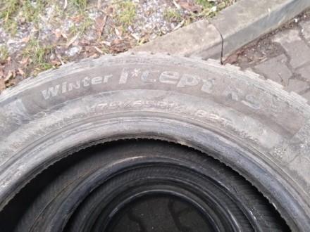 Hankook r14 175x65 протектор видно на фото, приблизительно 7 мм все 4 колеса оди. Черновцы, Черновицкая область. фото 7