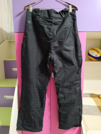 Лыжные штаны, мужские, размер 48-50. Цвет черный. Есть сьемные подтяжки. Внизу ш. Чернигов, Черниговская область. фото 2