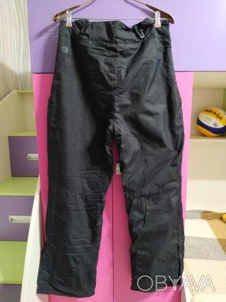 Лыжные штаны, мужские, размер 48-50. Цвет черный. Есть сьемные подтяжки. Внизу ш. Чернигов, Черниговская область. фото 1