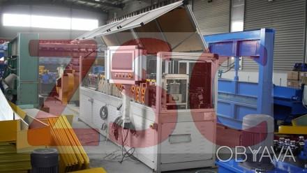 Машина для изготовления каркасов (рам) легких конструкций