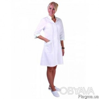 Халат медицинский женский  белый
