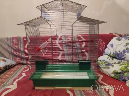 Продам клетку для попугаев, Цинк