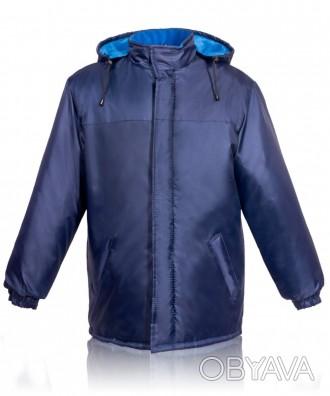Утепленная рабочая куртка на флисе