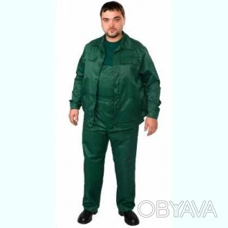 Костюм рабочий мужской зеленый