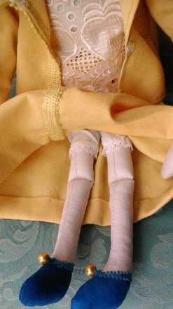 Новая кукла ручной работы. Единственный экземпляр. Высота 51 сан. Ткань хлопок. Киев, Киевская область. фото 6