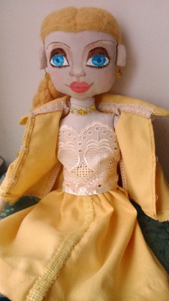 Новая кукла ручной работы. Единственный экземпляр. Высота 51 сан. Ткань хлопок. Киев, Киевская область. фото 7