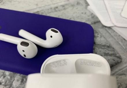 Оригінальні бездротові навушники AirPods 2.  Ми на 100% впевнені в якості своє. Киев, Киевская область. фото 4