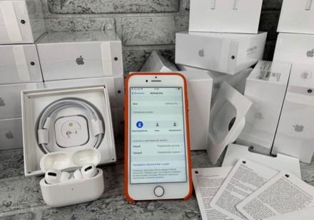 Оригінальні бездротові навушники AirPods Pro з функцією шумозаглушення.  Ми на. Киев, Киевская область. фото 4