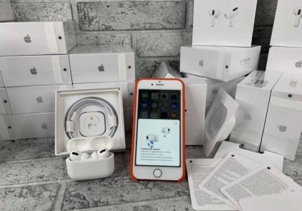 Оригінальні бездротові навушники AirPods Pro з функцією шумозаглушення.  Ми на. Киев, Киевская область. фото 3