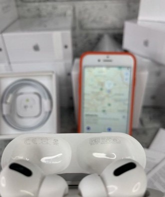 Оригінальні бездротові навушники AirPods Pro з функцією шумозаглушення.  Ми на. Киев, Киевская область. фото 5
