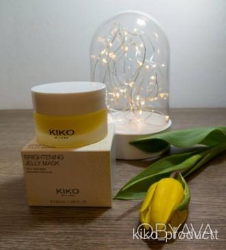 Гелева маска для обличчя KIKO Brightening gel face mask