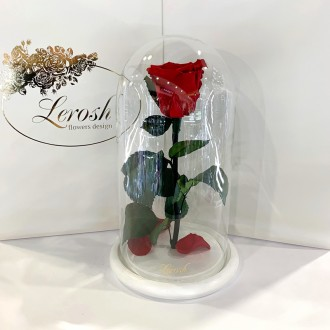 Діаметр бутона троянди 6-7 см  Розмір композиції 16*16*27 см  Колір підставк. Киев, Киевская область. фото 4