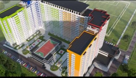 Однокомнатная квартира общей площадью 41 м2 с красивым видом с 14 этажа. В квар. Таирова, Одесса, Одесская область. фото 4