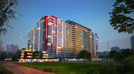 Однокомнатная квартира общей площадью 41 м2 с красивым видом с 14 этажа. В квар. Таирова, Одесса, Одесская область. фото 2