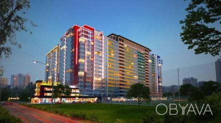 Однокомнатная квартира общей площадью 41 м2 с красивым видом с 14 этажа. В квар. Таирова, Одесса, Одесская область. фото 1