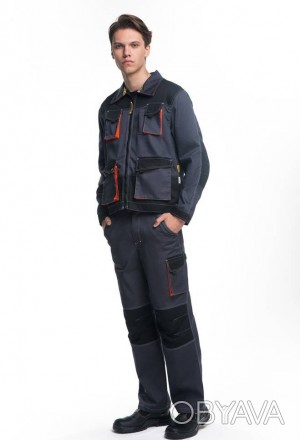 Рабочая куртка мужская демисезонная