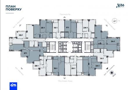 Продажа апартаментов Business-класса в центре Киева. Проект ЖК «А136. High. Голосеевский центр, Киев, Киевская область. фото 4