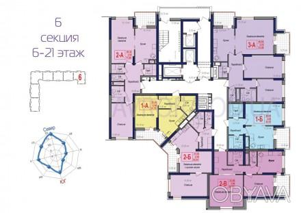 Хотите отдых дома? Только представьте себе уютную 2-х комнатную квартиру с боль. Малиновский, Одесса, Одесская область. фото 1