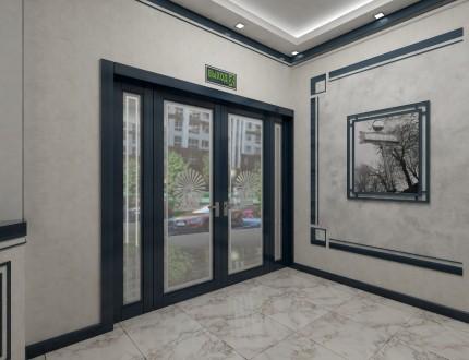 1-но комнатная квартира в новом строящемся доме в самом сердце Черемушек.  Обща. Черемушки, Одесса, Одесская область. фото 5