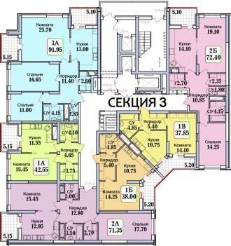 В продаже квартира по лучшей цене:  ✅Квартира общей площадью 37,85 квадратных . Черемушки, Одесса, Одесская область. фото 3