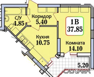 В продаже квартира по лучшей цене:  ✅Квартира общей площадью 37,85 квадратных . Черемушки, Одесса, Одесская область. фото 1