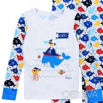 Пижама на мальчика интерлок