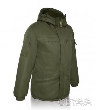 Рабочая куртка зимняя цвет хаки