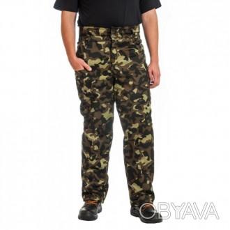 Рабочие камуфлированные брюки