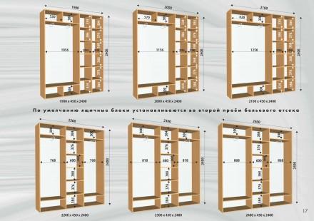 Распродажа  шкафы купе в наличии  расчет на адресе (при условии наличия нужной. Одесса, Одесская область. фото 9
