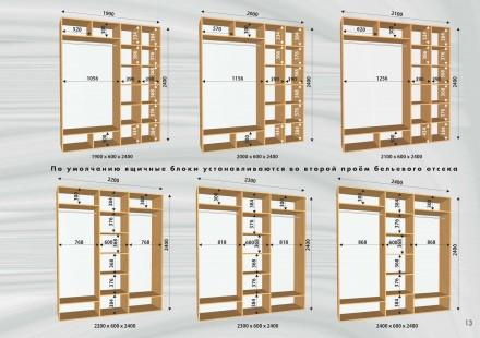 Распродажа  шкафы купе в наличии  расчет на адресе (при условии наличия нужной. Одесса, Одесская область. фото 5