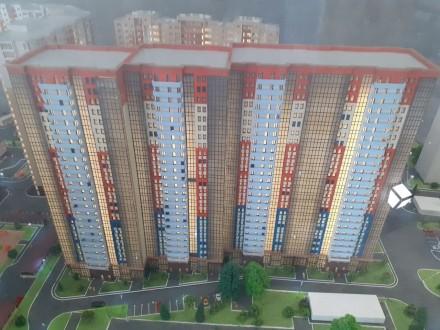 Продажа недорогих 1-2 комнатных апартаментов Comfort-класса в 5 минутах пешей хо. Голосеево, Киев, Киевская область. фото 2