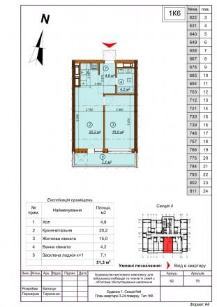 Продажа недорогих 1-2 комнатных апартаментов Comfort-класса в 5 минутах пешей хо. Голосеево, Киев, Киевская область. фото 10