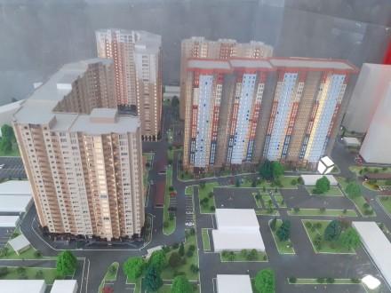 Продажа недорогих 1-2 комнатных апартаментов Comfort-класса в 5 минутах пешей хо. Голосеево, Киев, Киевская область. фото 3