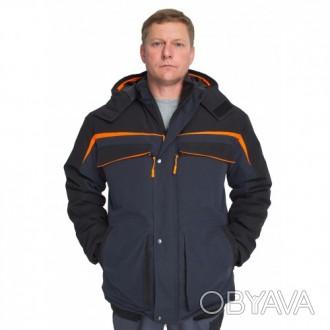 Теплая рабочая куртка, стильная спецодежда