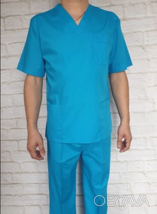 Медицинский халат. Ткань батист.