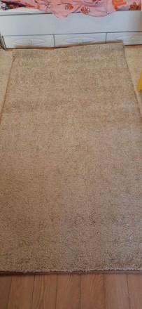 Продвм НОВЫЙ ковёр  размерами 120×215 см цвет капучино.Мягкий, с большим ворсом . Одесса, Одесская область. фото 6