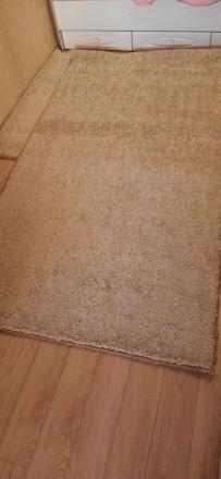 Продвм НОВЫЙ ковёр  размерами 120×215 см цвет капучино.Мягкий, с большим ворсом . Одесса, Одесская область. фото 2