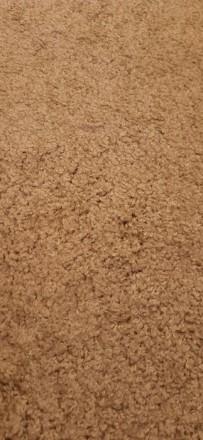 Продвм НОВЫЙ ковёр  размерами 120×215 см цвет капучино.Мягкий, с большим ворсом . Одесса, Одесская область. фото 4