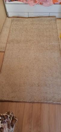 Продвм НОВЫЙ ковёр  размерами 120×215 см цвет капучино.Мягкий, с большим ворсом . Одесса, Одесская область. фото 3
