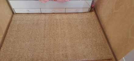 Продвм НОВЫЙ ковёр  размерами 120×215 см цвет капучино.Мягкий, с большим ворсом . Одесса, Одесская область. фото 7