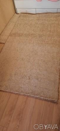 Продвм НОВЫЙ ковёр  размерами 120×215 см цвет капучино.Мягкий, с большим ворсом . Одесса, Одесская область. фото 1
