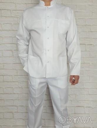 Медицинский костюм мужской . Ткань коттон.