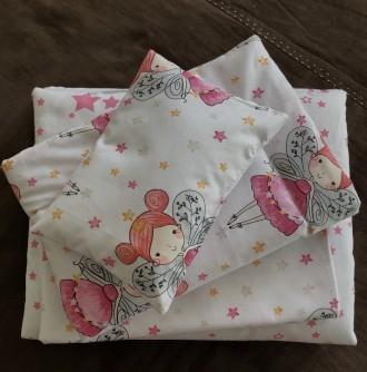 Для любимых дочек - красивая постелька- игрушка , доставит много удовольствия дл. Харьков, Харьковская область. фото 7