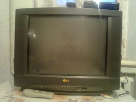 продам телевізор кінескопний б/у LG. Тростянец. фото 1