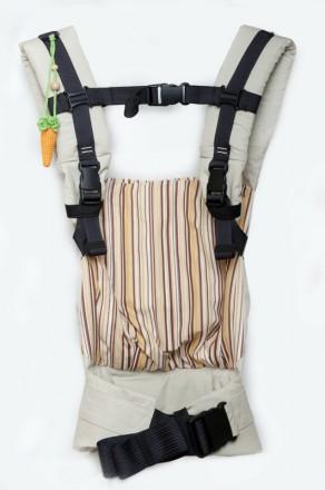 Рюкзачок освобождает руки и делает общение родителей и малыша очень близким. Ре. Одесса, Одесская область. фото 3